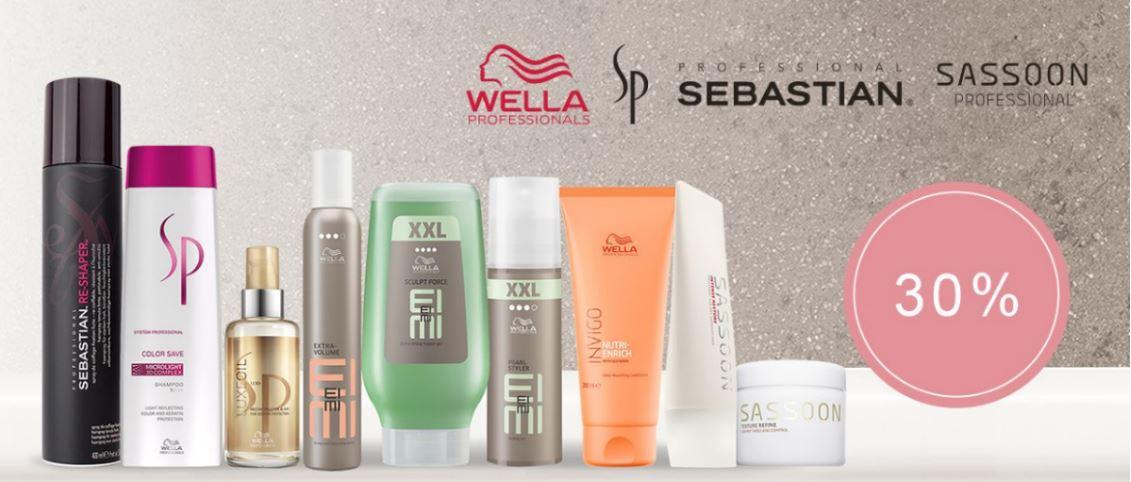 Special Deals: Wella Professionals, SP, Sassoon, Sebastian